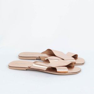 Seychelles Total Relaxation Sandals Rose Gold 8.5